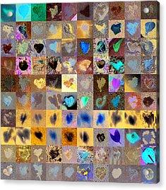 Three Hundred Series Acrylic Print by Boy Sees Hearts