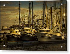 Three Ladies Of The Gulf Acrylic Print by Marvin Spates