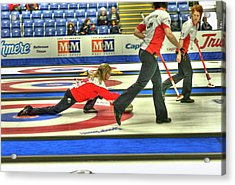 Three Times World Champions Acrylic Print by Lawrence Christopher