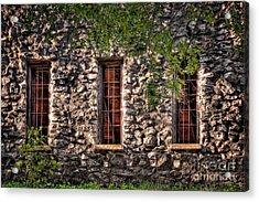 Three Windows Acrylic Print by Tamyra Ayles
