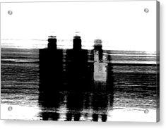 Three Wise Men Acrylic Print by Az Jackson