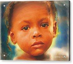 Through My Eyes Acrylic Print by Bob Salo