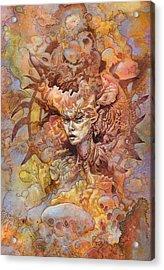 Tidal Insurgent Acrylic Print by Ethan Harris