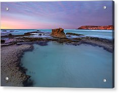 Tidepool Dawn Acrylic Print by Mike  Dawson