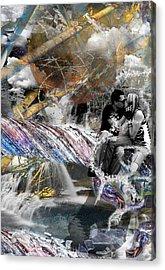 Til Death Do Us Part Acrylic Print by Danielle Kasony