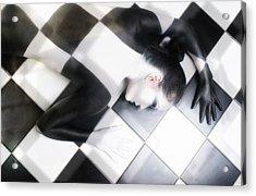 Tile Tales Acrylic Print by Derek Galon