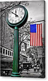Time For Lunch Acrylic Print by DJ Florek