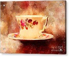 Time For Tea Acrylic Print by Lois Bryan