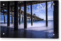 Time Machine Acrylic Print by Sean Foster