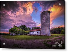 Time Tested Acrylic Print by Marvin Spates