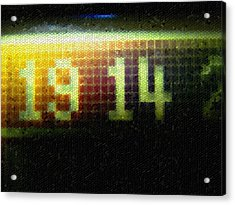 Mosaic Acrylic Print featuring the photograph Time To Go Home by Roberto Alamino