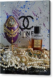 Timeless Accessories 9 Acrylic Print by To-Tam Gerwe