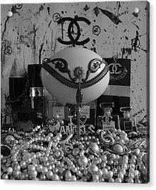 Timeless Accessories Black And White Acrylic Print by To-Tam Gerwe