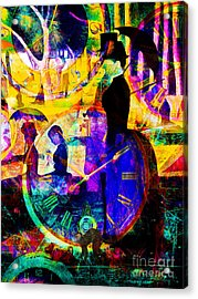Timeless Art A Sunday On La Grande Jatte 20160229 Vertical Acrylic Print by Wingsdomain Art and Photography