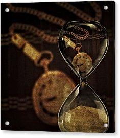 Timepieces Acrylic Print by Susan Candelario