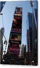 Times Square Acrylic Print by Rob Hans