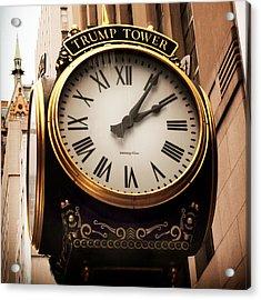 Time's Up Acrylic Print by Jessica Jenney