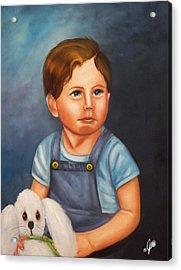 Timmy And Fluffy Acrylic Print by Joni McPherson