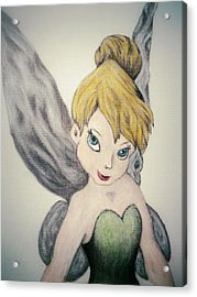 Tink Acrylic Print by Gilbert Photography And Art