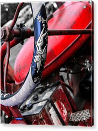 Tinker Bell's Tractor  Acrylic Print by Steven  Digman