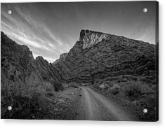 Titus Canyon Road Acrylic Print by Peter Tellone