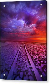 To All Ends Of The World Acrylic Print by Phil Koch
