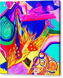 To David Mann Acrylic Print by HollyWood Creation By linda zanini