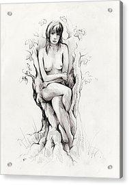 To Remain Acrylic Print by Rachel Christine Nowicki