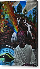 To Reveal And To Receive Acrylic Print by Matthew Fredricey