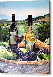 Toast Of The Valley Acrylic Print by Gail Chandler
