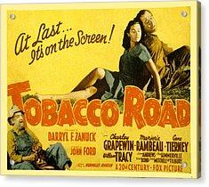 Tobacco Road, Charley Grapewin, Aka Acrylic Print by Everett