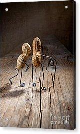 Together 05 Acrylic Print by Nailia Schwarz