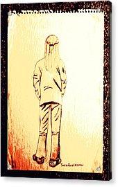 Tom Boy Acrylic Print by Sheri Buchheit