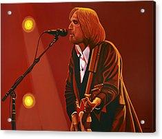 Tom Petty Acrylic Print by Paul Meijering