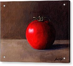 Tomato Still Life 1 Acrylic Print by Janet King