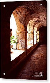Tomb Of King David Acrylic Print by Thomas R Fletcher