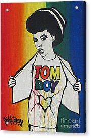 Tomboy Acrylic Print by Renate Dubose
