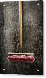 Tools On Wood 14 Acrylic Print by Yo Pedro