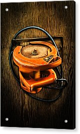Tools On Wood 32 Acrylic Print by YoPedro