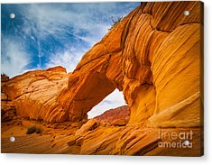 Top Arch Acrylic Print by Inge Johnsson