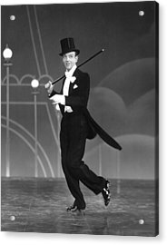 Top Hat, Fred Astaire, 1935 Acrylic Print by Everett