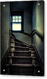 Top Of The Stairs Acrylic Print by Scott Norris