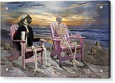 Topsail Tales Acrylic Print by Betsy C Knapp