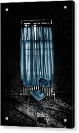 Tormented In Grace Acrylic Print by Evelina Kremsdorf