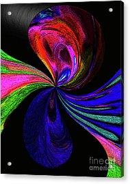 Torn Acrylic Print by Terril Heilman
