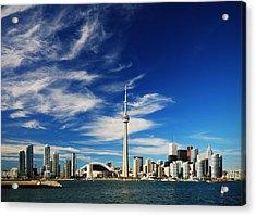 Toronto Skyline Acrylic Print by Andriy Zolotoiy