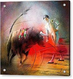 Toroscape 59 Acrylic Print by Miki De Goodaboom