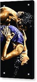 Torrid Tango Acrylic Print by Richard Young