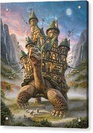 Tortoise House Acrylic Print by Phil Jaeger