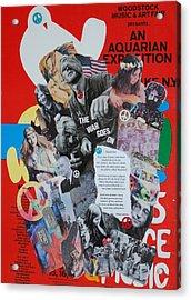 Touchstone Acrylic Print by Helen Carson